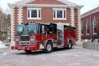 Lenox Fire Department Truck